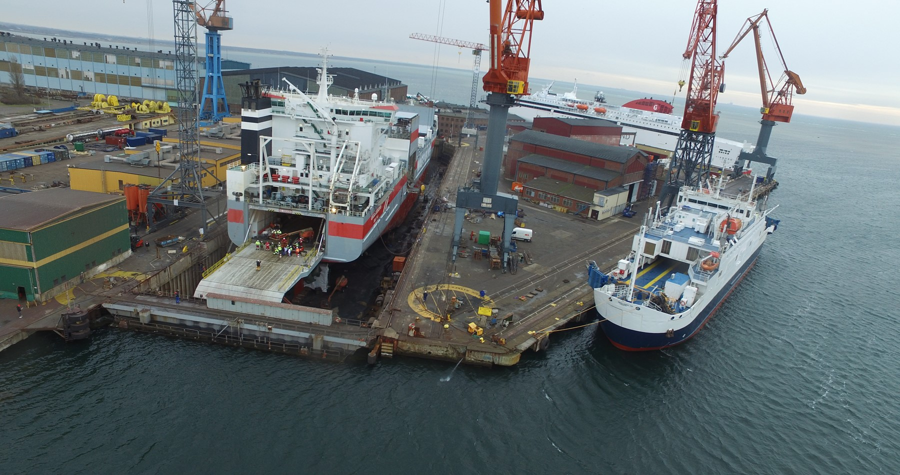 Oranjeborg ready for service after 15 year renewal survey