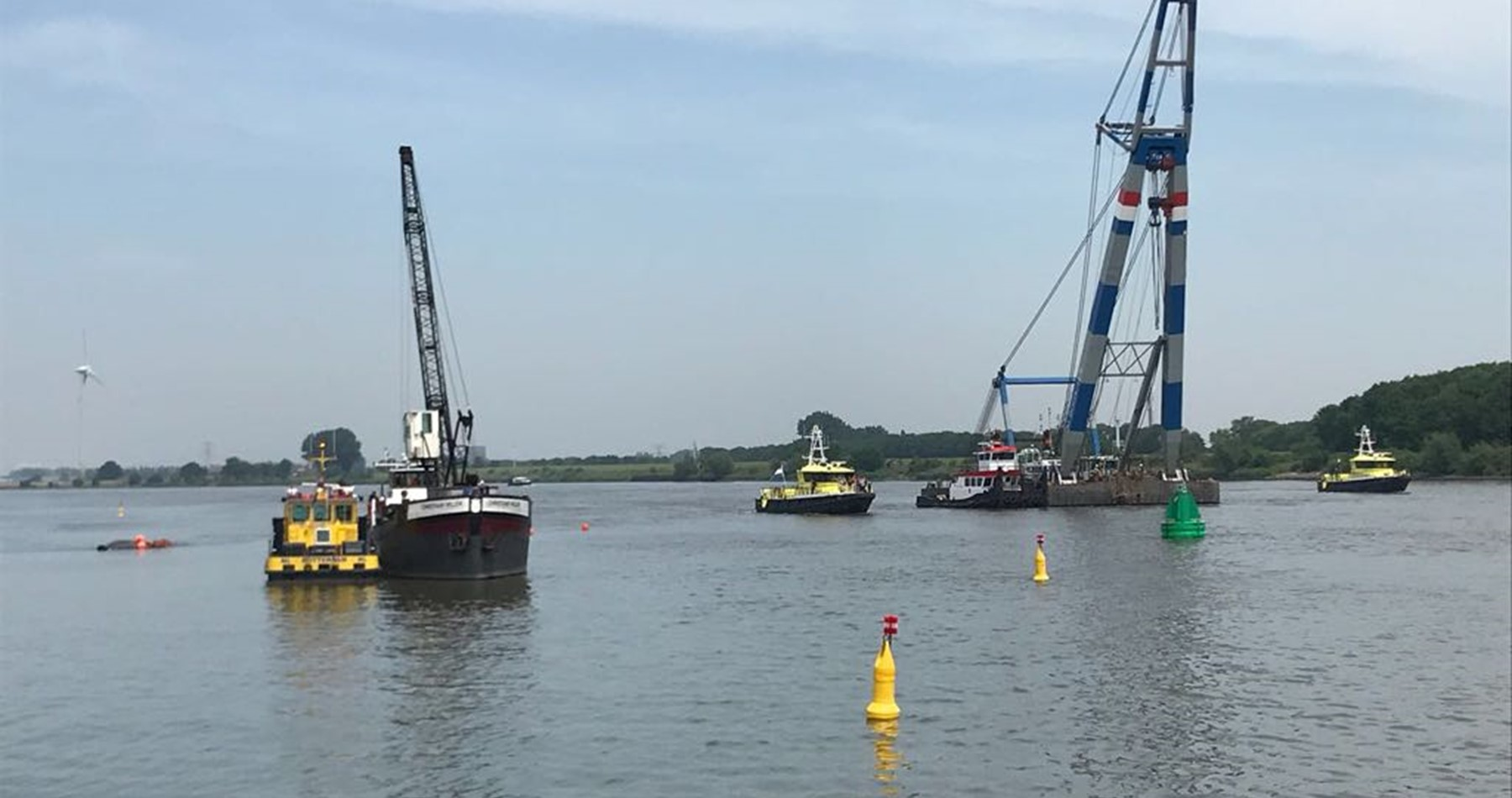 Wagenborg Towage successfully completes salvage of Ms Coxswain