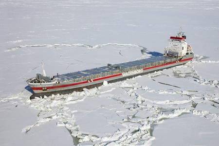 Navigating in ice requires specialist know-how